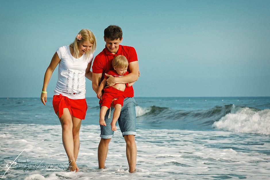 Красивые на море как сделать семейные