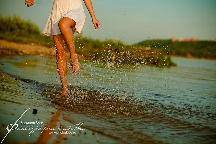 Фотосессия на берегу Волги