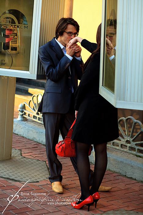 Год после свадьбы. Фотосессия