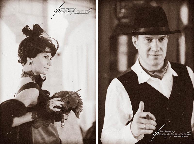 Mr. & Mrs. Grekovs wedding day