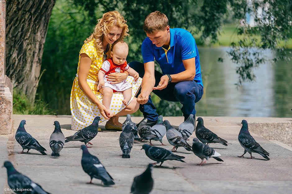 Семейная фотосъемка в Санкт-Петербурге