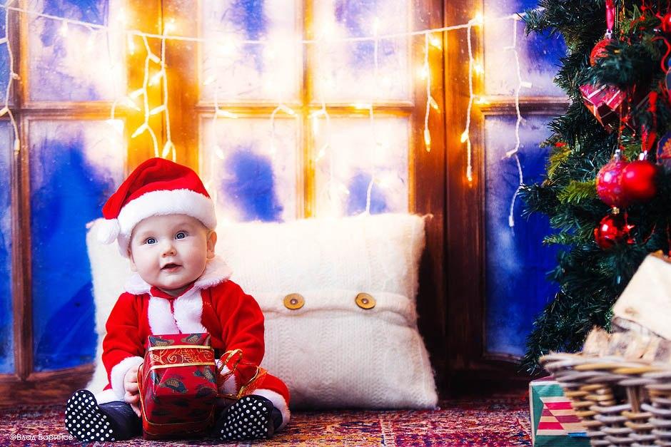 Новогодние семейные фотосессии в 2014-2015 году