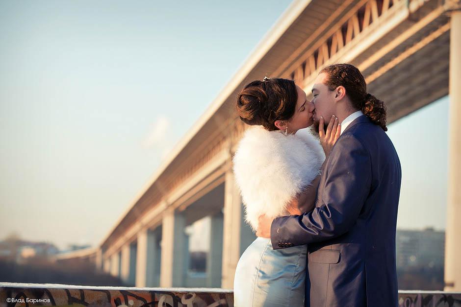 Зимняя свадьба в Нижнем Новгороде