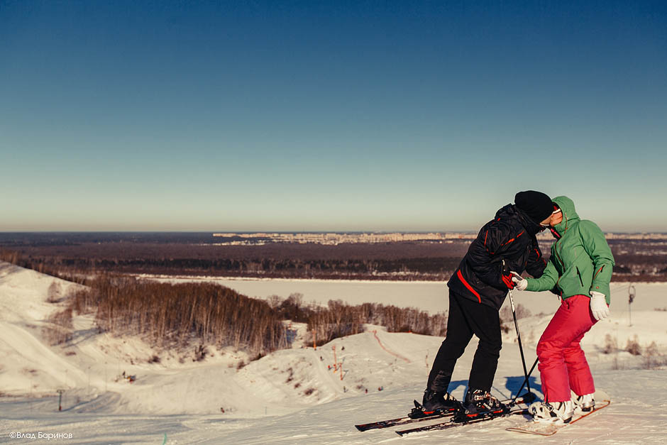 Love-story на лыжах