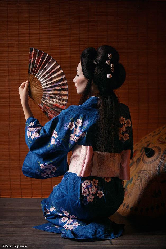 Фотосессия в японском стиле